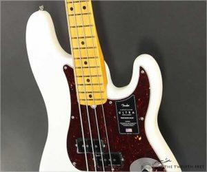 Fender American Ultra Precision Bass Arctic Pearl