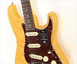 ❌Discontinued❌ Fender American Ultra Stratocaster Aged Natural, 2019