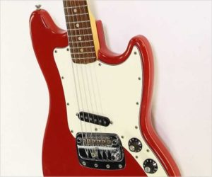 Fender Bronco Guitar Fiesta Red, 1974