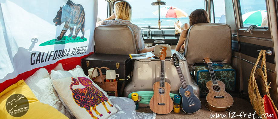 Fender New California Coast Series Ukuleles - The Twelfth Fret