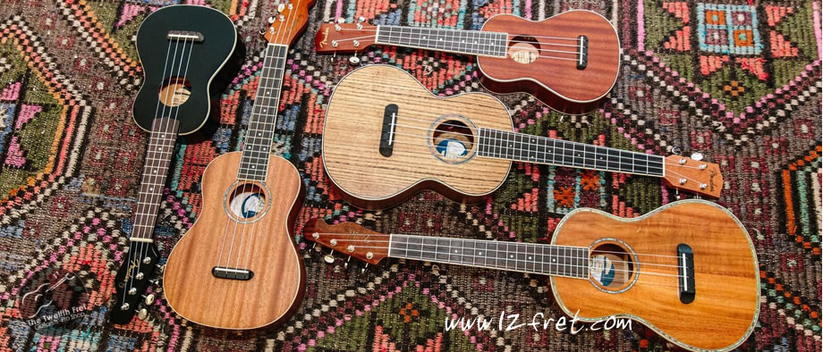 Fender New California Coast Series Ukuleles Celebrating Its California roots - The Twelfth Fret