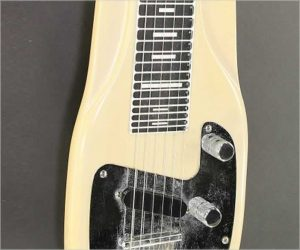 ❌SOLD❌  Fender Champ Lap Steel Desert Sand, 1962