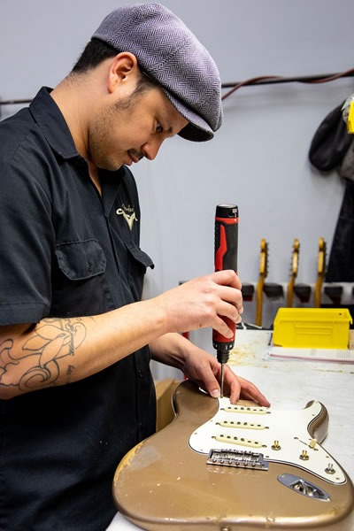 Fender Custom Shop Promotes Carlos Lopez to Master Builder - The Twelfth Fret News