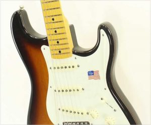 Fender Eric Johnson Stratocaster Maple Neck Sunburst - The Twelfth Fret
