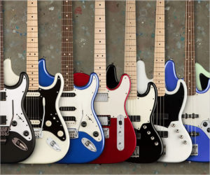 "Fender Squier All-New ""Contemporary Series"" Electric and Basses"