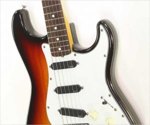 ❌SOLD❌  Fender JV Squier Series Stratocaster Rosewood MIJ Sunburst, 1982