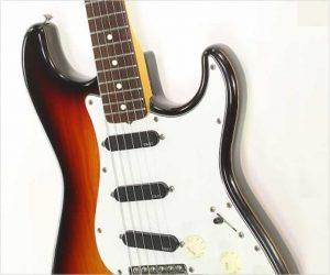 Fender JV Squire Series Stratocaster Rosewood MIJ Sunburst, 1982