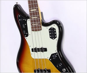 ❌ SOLD ❌ Fender Jaguar Bass Sunburst MIJ 2010