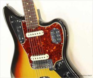Fender Jaguar Offset Body Sunburst, 1964
