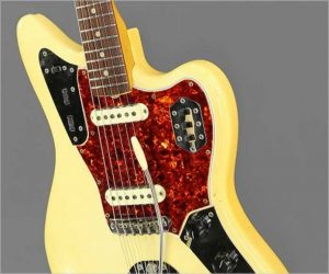 ❌SOLD❌ Fender Jaguar Olympic White, 1965