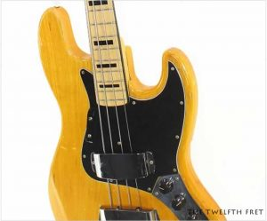 Fender Jazz Bass Natural, 1973 - The Twelfth Fret