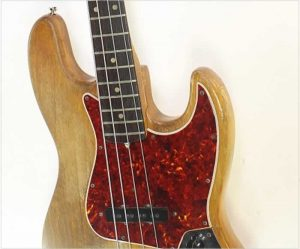 Fender Jazz Bass Natural Refinish, 1966 - The Twelfth Fret