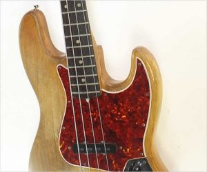 ❌SOLD❌ Fender Jazz Bass Natural Refinish, 1966