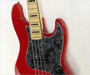 Fender Limited Edition USA Geddy Lee Jazz Bass Trans Crimson, 2015 - The Twelfth Fret