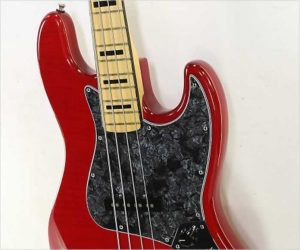 ‼️Reduced‼️ Fender Limited Edition USA Geddy Lee Jazz Bass Trans Crimson, 2015