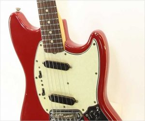 ❌SOLD❌  Fender Mustang Dakota Red, 1965