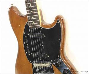 ❌SOLD❌  Fender Mustang Faded Mocha, 1975