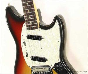 Fender Mustang Sunburst, 1973