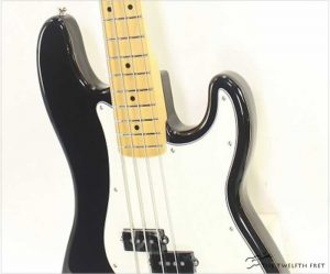 Fender Player Precision Bass Maple Neck Black - The Twelfth Fret