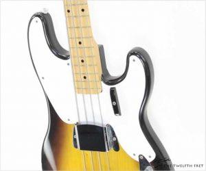 Fender Precision 1956 Solidbody Electric Bass Sunburst