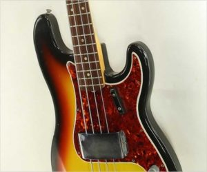❌ SOLD ❌ Fender Precision Bass Sunburst 1966