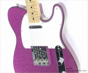 Fender Purple Sparkle Telecaster Custom Shop, 2003 - The Twelfth Fret