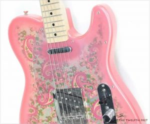 Fender Red Paisley Telecaster MIJ, 1994 - The Twelfth Fret