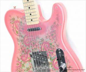❌SOLD❌  Fender Red Paisley Telecaster MIJ, 1994