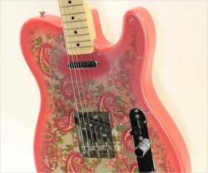 ❌SOLD❌ Fender Red Paisley Telecaster MIJ, 1994