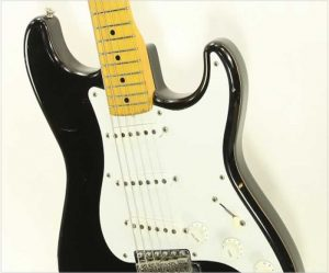Fender Squier JV 1957 Stratocaster Black, 1982 - The Twelfth Fret