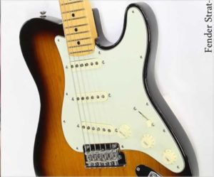 Fender Strat-Tele Hybrid Parallel Universe Limited Edition Sunburst - The Twelfth Fret
