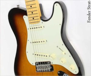 Fender Strat-Tele Hybrid Parallel Universe Limited Edition Sunburst