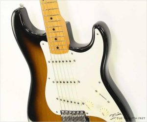 ❌SOLD❌ Fender Stratocaster 57 Vintage Reissue Tobacco Sunburst, 2003
