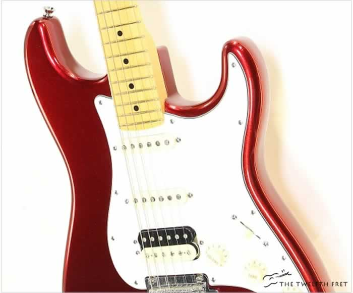 Fender Stratocaster HSS Maple Neck Candy Apple Red, 2008 - The Twelfth Fret