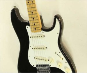 Sold!  Fender Stratocaster HardTail Black, 1973
