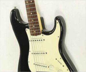 Sold!  Fender Stratocaster Hard Tail Black, 1975