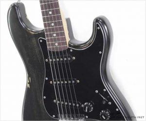 Fender Stratocaster HardTail Black Refinish, 1977