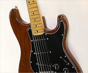 ❌ SOLD ❌  Fender Stratocaster Maple Neck Translucent Brown, 1979