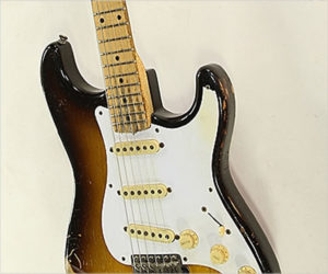 ❌ SOLD ❌ Fender Stratocaster Sunburst, 1957
