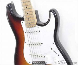 Fender Stratocaster Sunburst, 1958