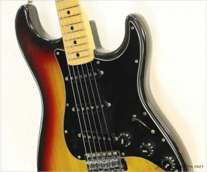 Fender Stratocaster Sunburst 1977 - The Twelfth Fret