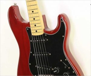 ❌SOLD❌ Fender Stratocaster Trans Red Maple Neck, 1979