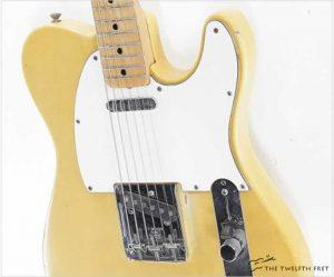 Fender Telecaster Blonde, 1972 - The Twelfth Fret