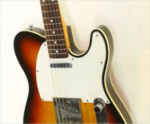 Fender Telecaster Custom Made In Japan Sunburst, 1985 - The Twelfth Fret