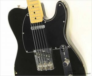 Fender Telecaster Maple Neck Black, 1978 - The Twelfth Fret