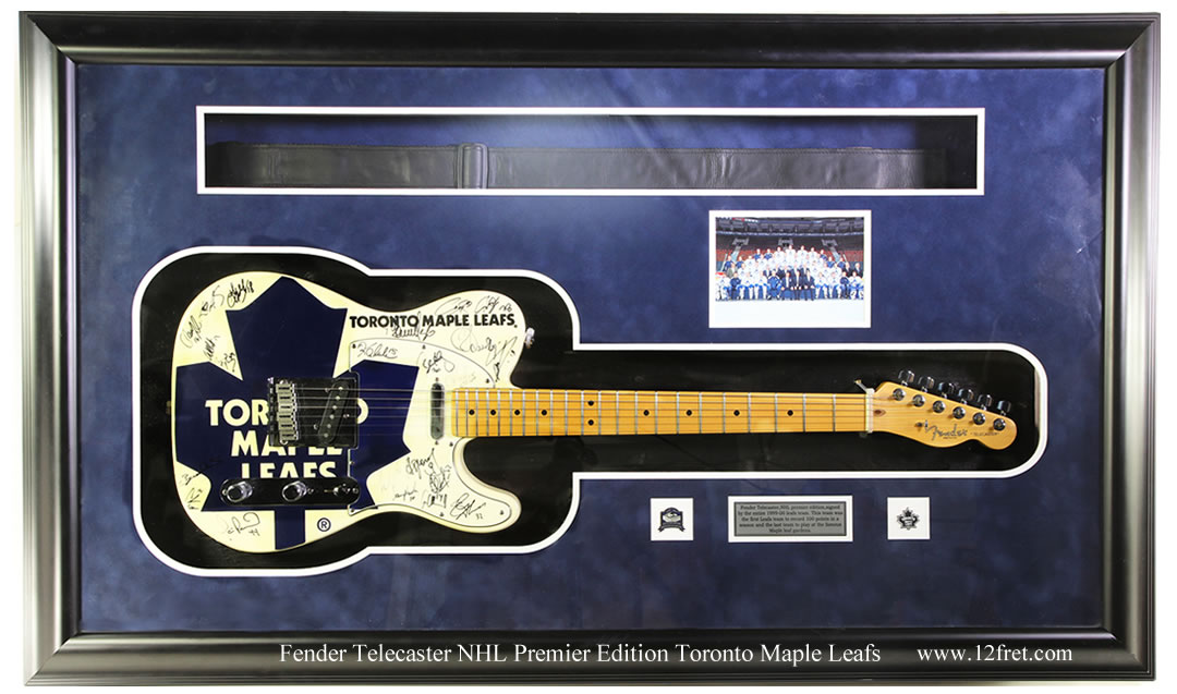 Fender Telecaster NHL Premier Edition Toronto Maple Leafs, 1999 - The Twelfth Fret