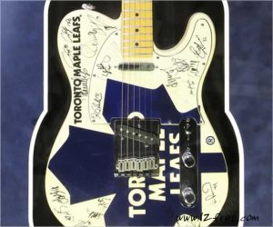 No Longer Available - Fender Telecaster NHL Premier Edition Toronto Maple Leafs, 1999-2000