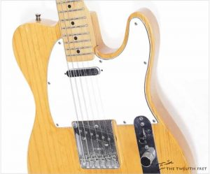 Fender Telecaster Natural Finish, 1983- The Twelfth Fret