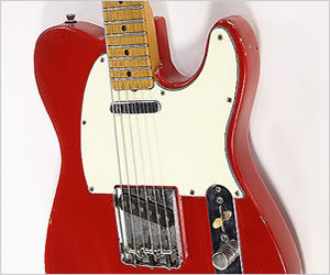 NO LONGER AVAILABLE!!! Fender Telecaster Refinish Red, 1959 Body 1976 Neck