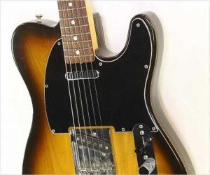 Fender Telecaster Rosewood Fingerboard Sunburst, 1978